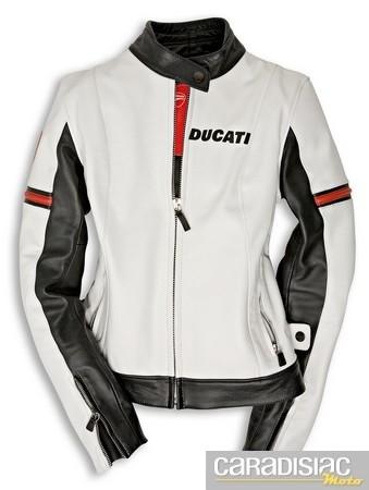 Blouson cuir Ducati Compagny… pour les filles.