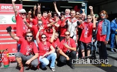 EWC: Ducati Esprit Racing Team: l'aventure continue.