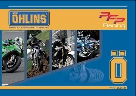 """Le catalogue Ohlins 2017 est disponible """"on line"""""""
