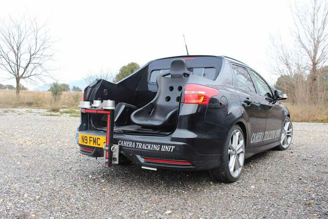 La Ford Focus SW ST restylée surprise en configuration camera car