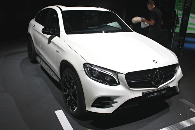Mercedes-AMG GLC43 Coupé : suite logique - en direct du Mondial de Paris 2016