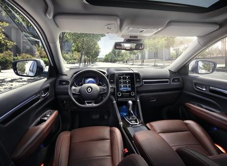 Renault Koleos: il coche les cases - Vidéo en direct du Mondial de Paris 2016