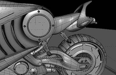 Plus futuriste que la Superbike Vectrix et la Rmoto : la Dacoit de Nitin