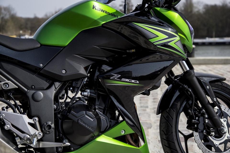 Essai Kawasaki Z300 ABS : elle taquine le motard !