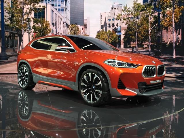BMW X2: prometteur - Vidéo en direct du Mondial de Paris 2016