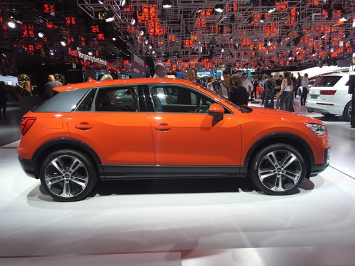Audi Q2: techno-parade - Vidéo en direct du Mondial de Paris 2016