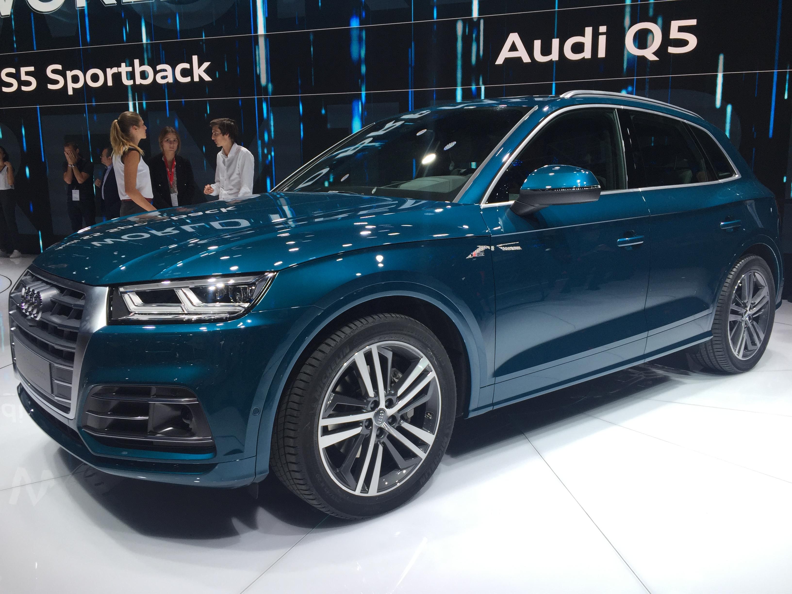 Audi Q5 Taille Patron Vido En Direct Du Mondial De