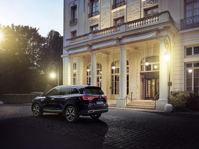 Mondial de Paris 2016 - Renault Koleos Initiale Paris : luxe français
