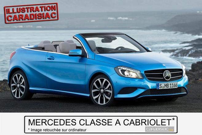 Mercedes prépare un cabriolet Classe A pour 2014