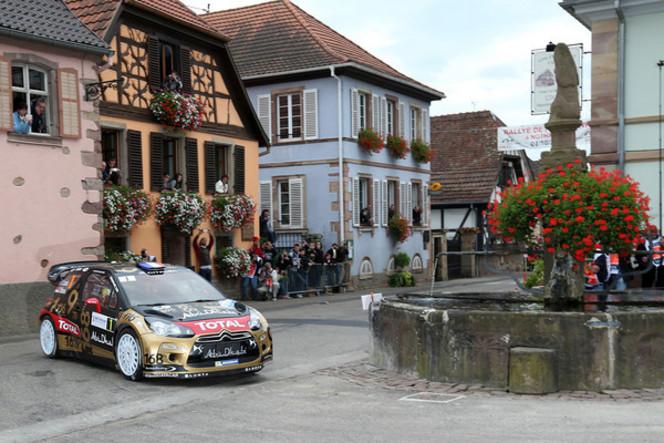 WRC : le rallye de France quitte l'Alsace