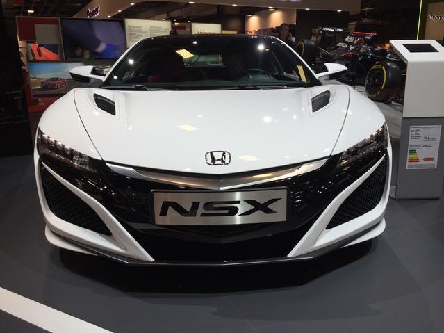 Honda NSX: survoltée - Vidéo en direct du Mondial de Paris 2016