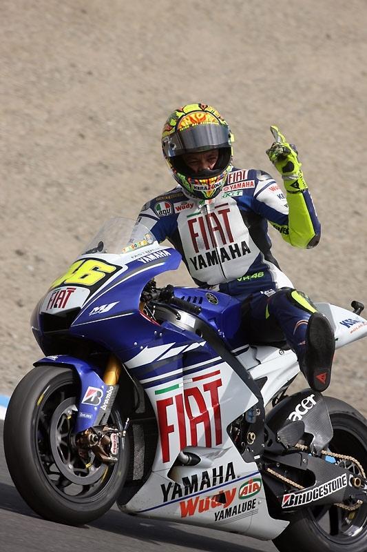 Moto GP - Rossi : Jouerait-il au malade imaginaire !?