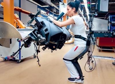 Ford: l'exosquelette arrive dans les usines