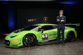 Lamborghini présente sa Huracán GT3