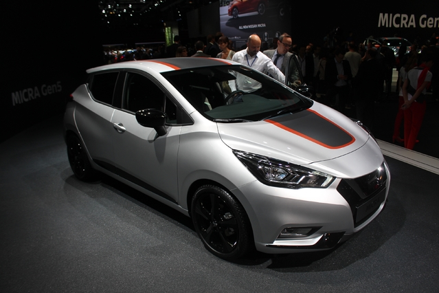 Nissan Micra 5 : franco-japonaise - Vidéo en direct du mondial de l'auto
