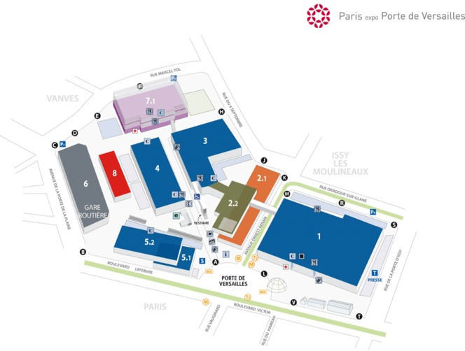 Mondial de l 39 auto 2012 les infos pratiques for Paris expo porte de versailles parking