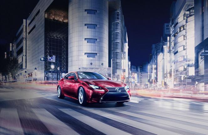 Tokyo 2013 : Le coupé Lexus RC se dévoile