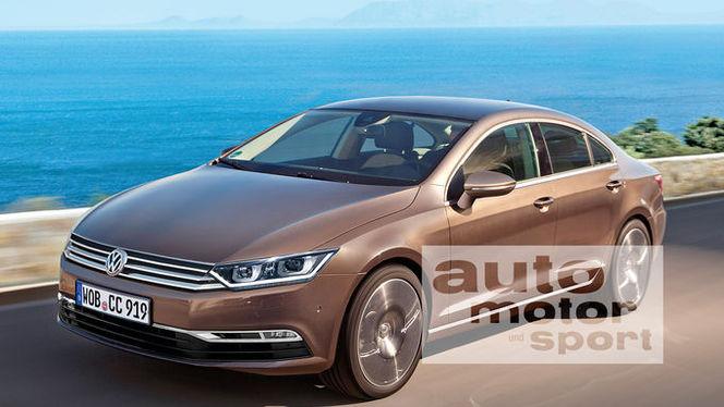 Le style de la VW CC dévoilé à Genève ?