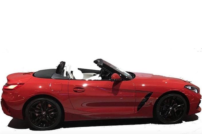 Le nouveau BMW Z4 ne se cache plus