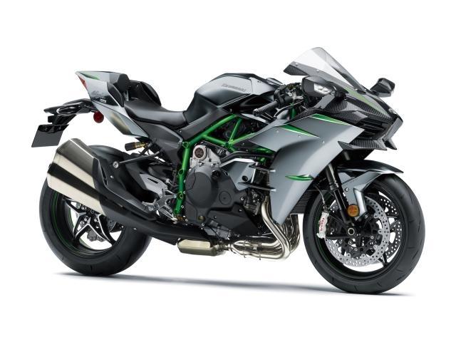 Kawasaki: une H2 plus puissante et avec une peinture qui se répare seule!