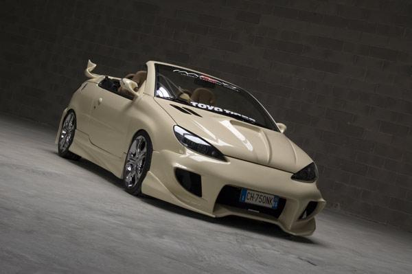 Ferrari California T >> Peugeot 206 CC By Impakt Tuning