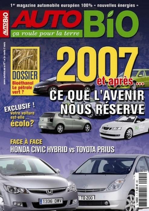 """""""AUTO BIO"""" : un nouveau magazine écolo"""