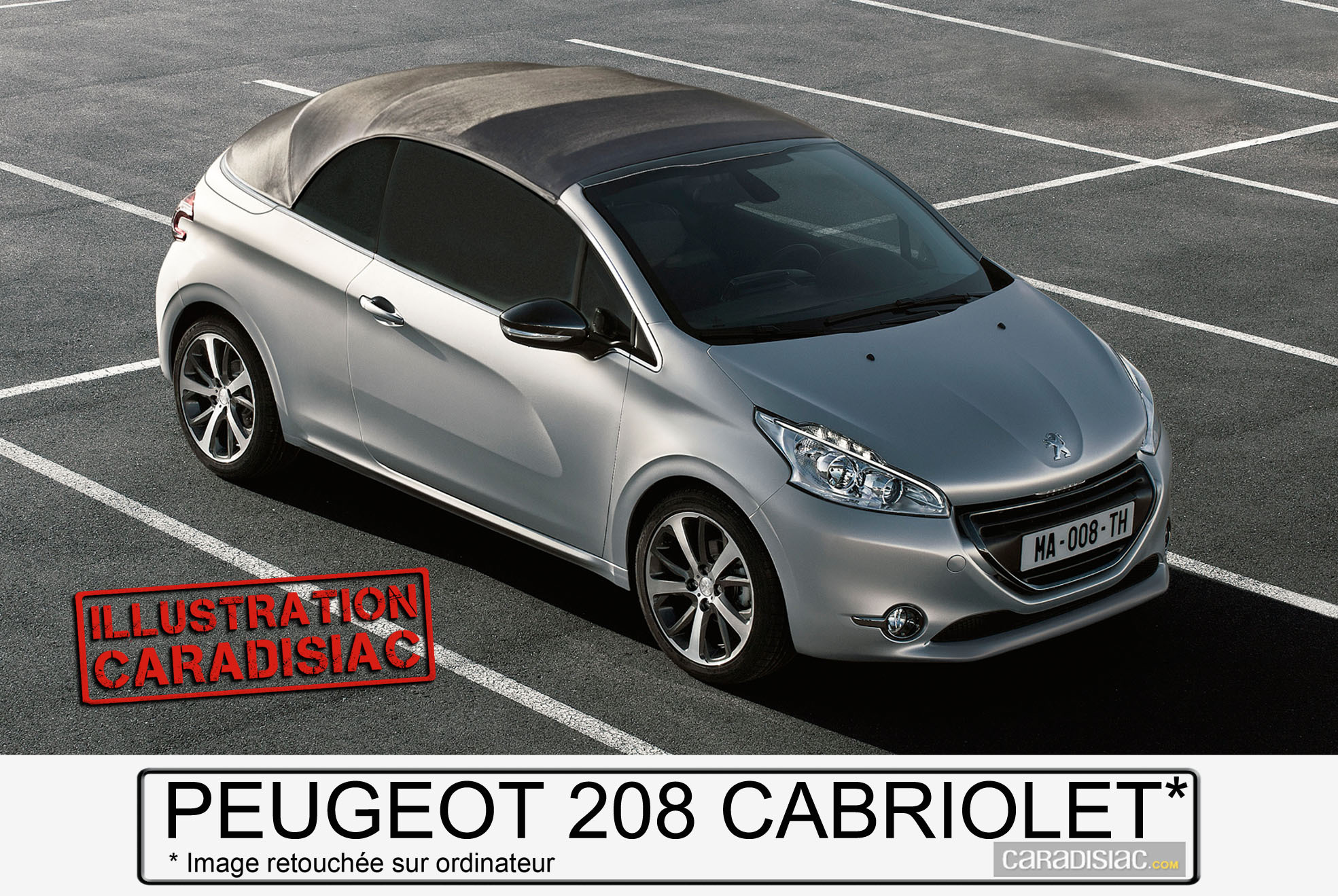 2015 peugeot 208 cc ou 208 cabriolet. Black Bedroom Furniture Sets. Home Design Ideas