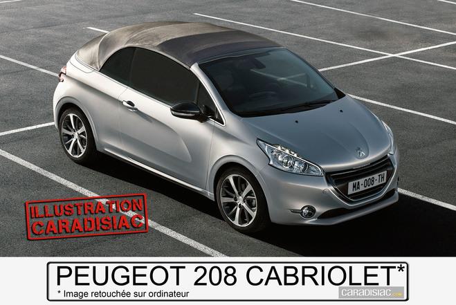 2015 : Peugeot 208 CC ou 208 Cabriolet ?