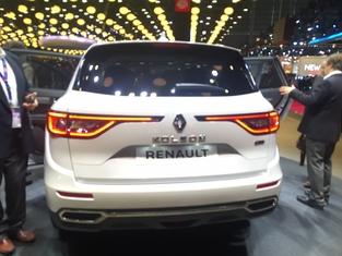 Première vidéo de la Renault Koleos : découvrez les premières images live en direct du Mondial de l'auto 2016