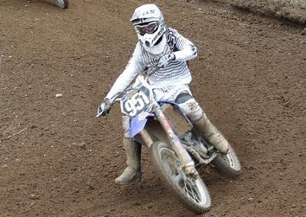 Motocross : Le jeune de la famille Aubin, Arnaud, en championnat d'Europe MX 2