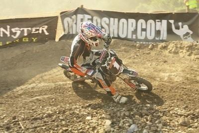 Championnat de France 2009 de Pit Bike: l'épreuve de Brie Comte Robert côté Pro.