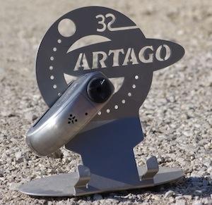 Essai bloc disque Artago 32S: environ 4,50 euros la seconde