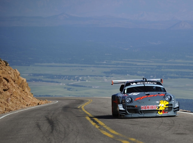 Pikes Peak 2012 3eme section : Romain Dumas toujours devant