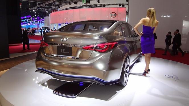 Infiniti remise son projet de voiture électrique