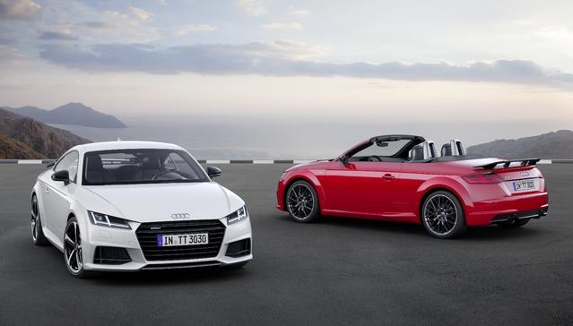 Audi lance une nouvelle version S Line Competition pour les TT coupé et roadster