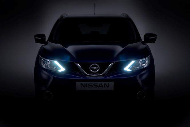 Nouveau Nissan Qashqai: sa face avant dévoilée!