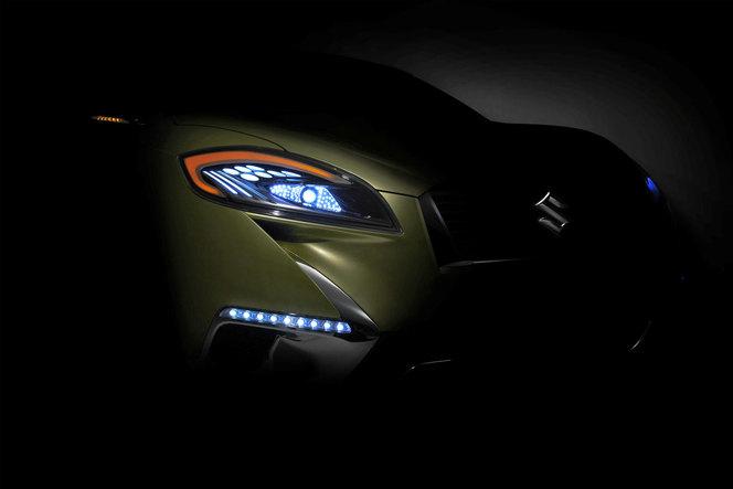 Mondial 2012 - Concept Suzuki S-Cross, pour contrer le Nissan Juke