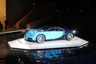La Bugatti Chiron que vous ne verrez pas au Mondial.