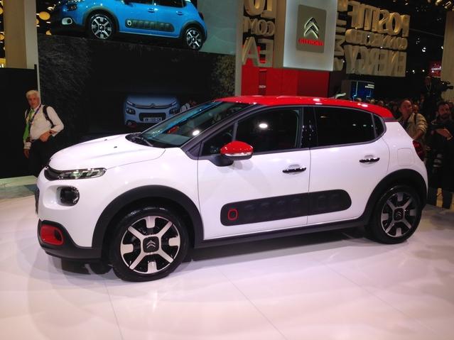 Première vidéo de la Citroën C3 : découvrez les premières images live en direct du Mondial de l'auto 2016