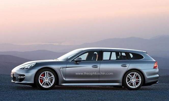 La Porsche Panamera Break confirmée pour le Mondial 2012