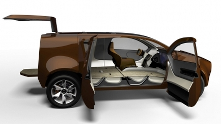 Au salon de Détroit, un SUV Nissan Hybride