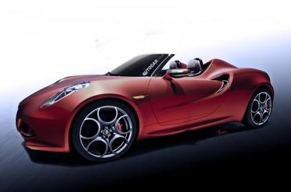 Future Alfa Romeo 4C spider: elle se confirme