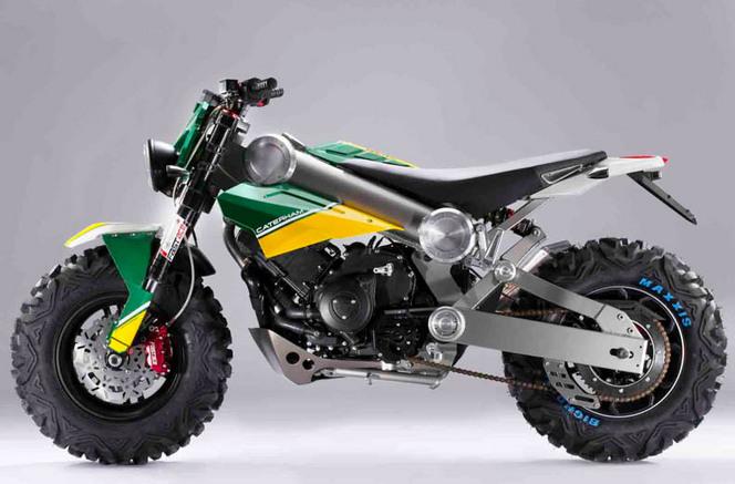 Caterham se lance dans la moto et présente 3 modèles!
