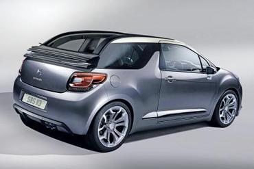 Mondial de Paris 2012 - La Citroën DS3 cabriolet y sera
