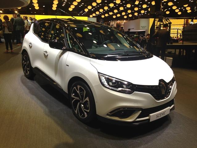 Première vidéo de la Renault Scénic 4 : découvrez les premières images live en direct du Mondial de l'auto 2016