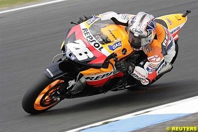 Moto GP: Malaisie Podium: 3. Pedrosa