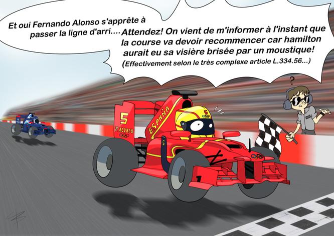 Cara croque l'actu #9: Si la F1 était une discipline olympique...