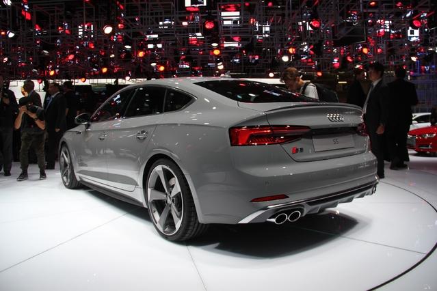 Audi A5 Sportback : le hayon du bonheur? - Vidéo en direct du Mondial de l'auto 2016