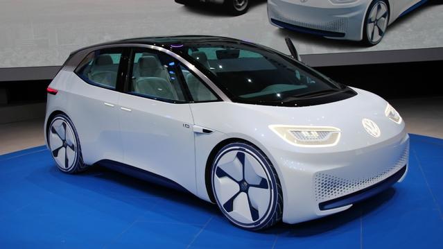 Volkswagen I.D. Concept : électrique et autonome - En direct du Mondial de l'auto 2016