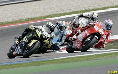 Moto GP - Laguna Seca: Hayden vise la place du meilleur chasseur